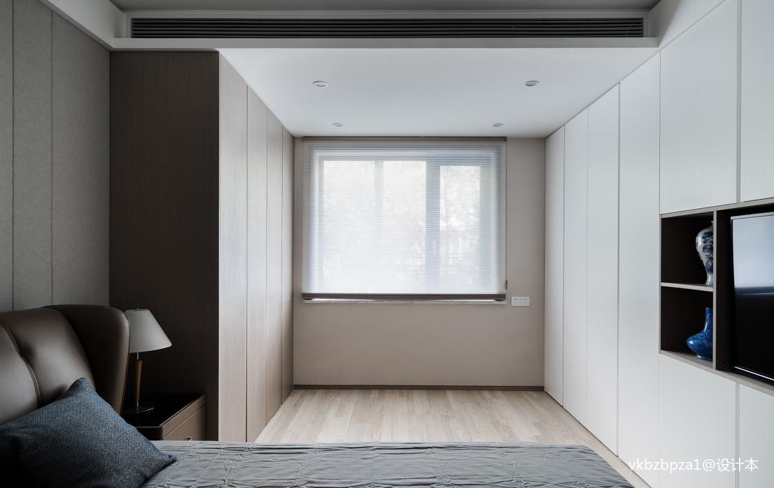 明亮60平簡約二居臥室設計效果圖