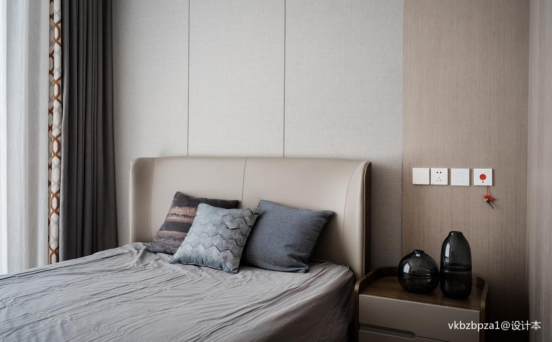 精致67平简约二居卧室装修设计图