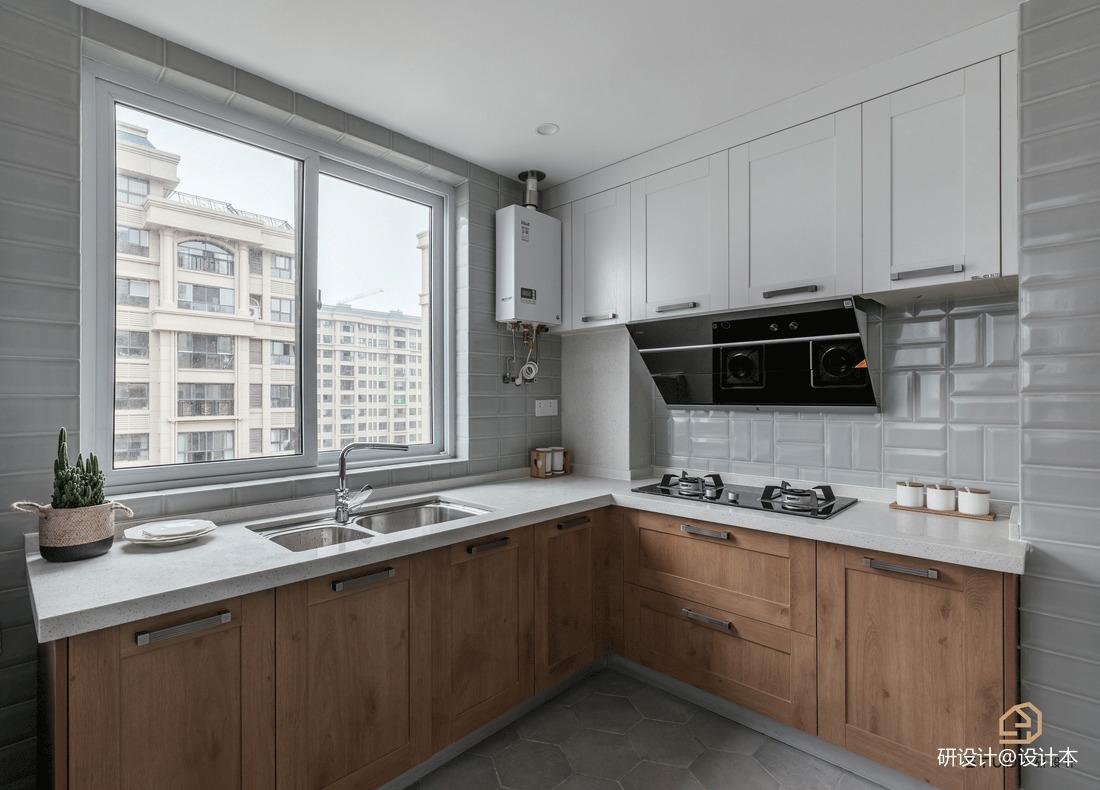 温馨70平北欧二居厨房装饰图片
