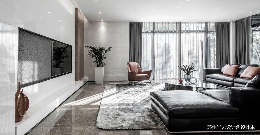 精致800平现代四居客厅美图