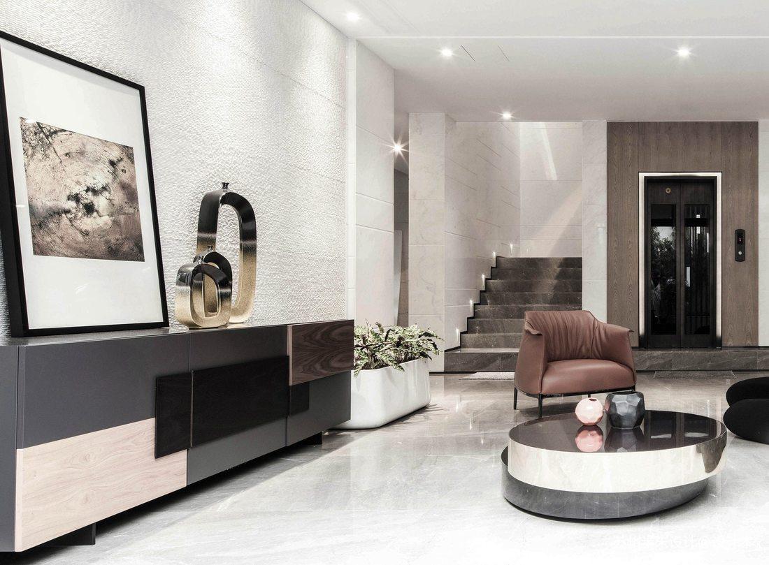 精致97平现代四居休闲区装修设计图