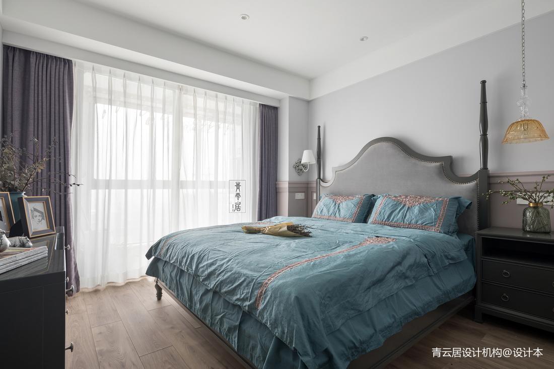 精美100平美式三居卧室效果图片大全