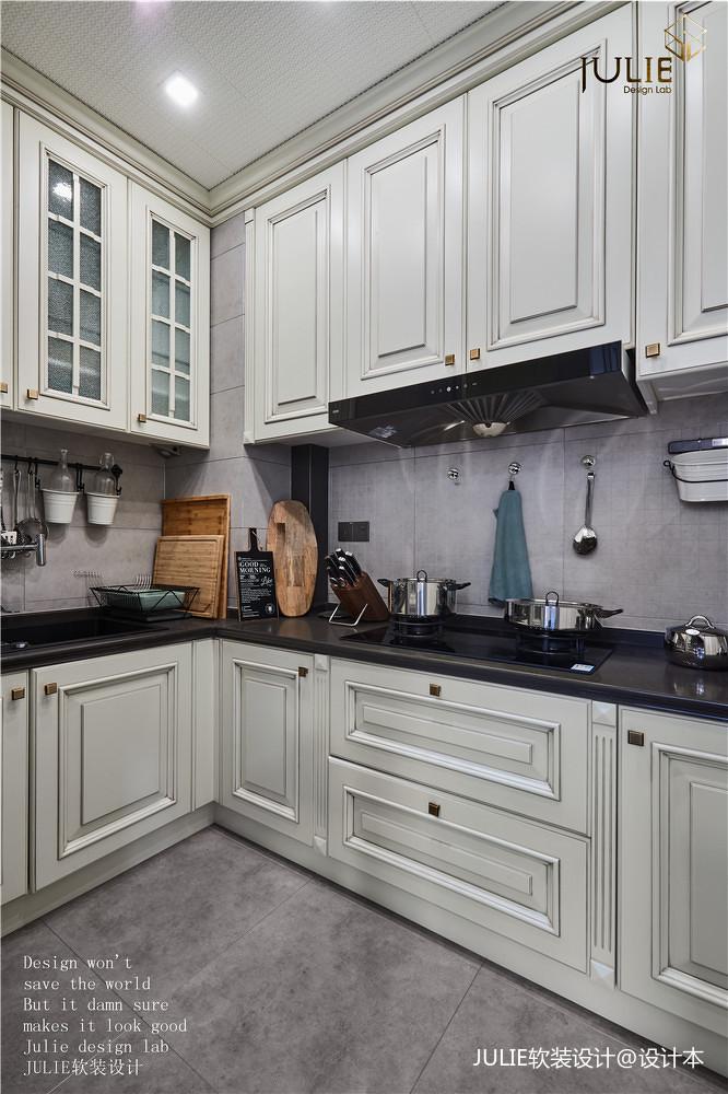 典雅116平美式四居厨房效果图片大全
