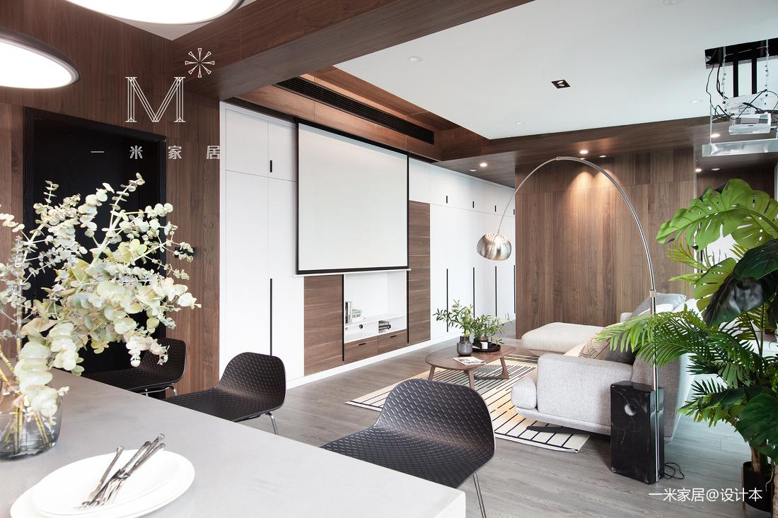 简洁62平现代二居装潢图