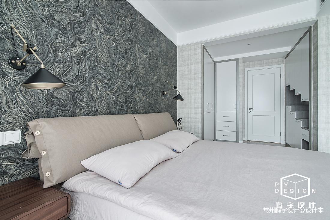浪漫108平北欧三居卧室装修美图