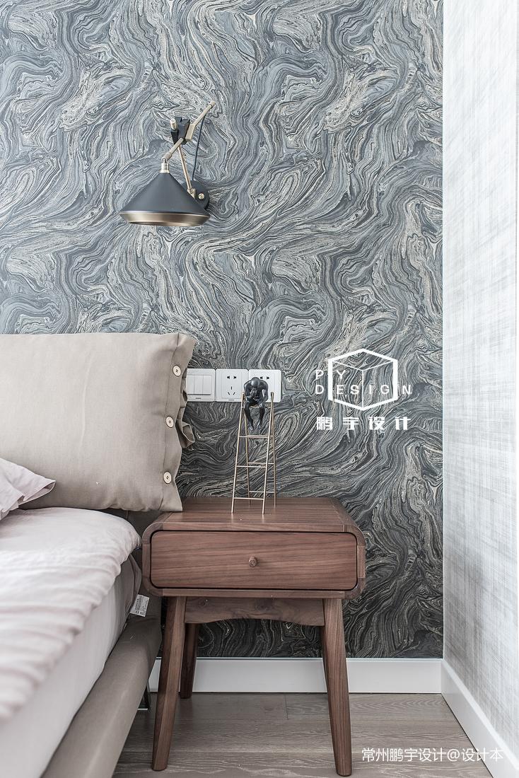 精致124平北欧三居卧室装饰图片