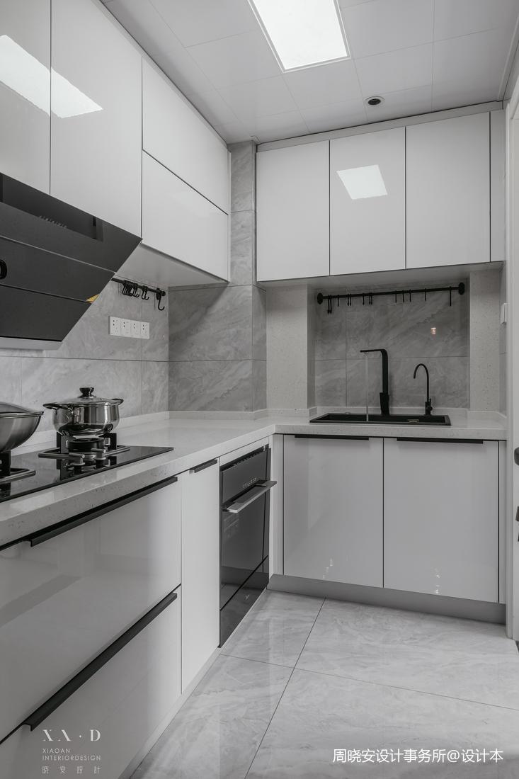 精致77平現代二居廚房裝修裝飾圖