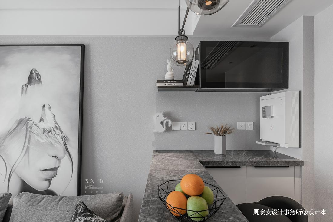 精致54平現代二居廚房裝飾美圖