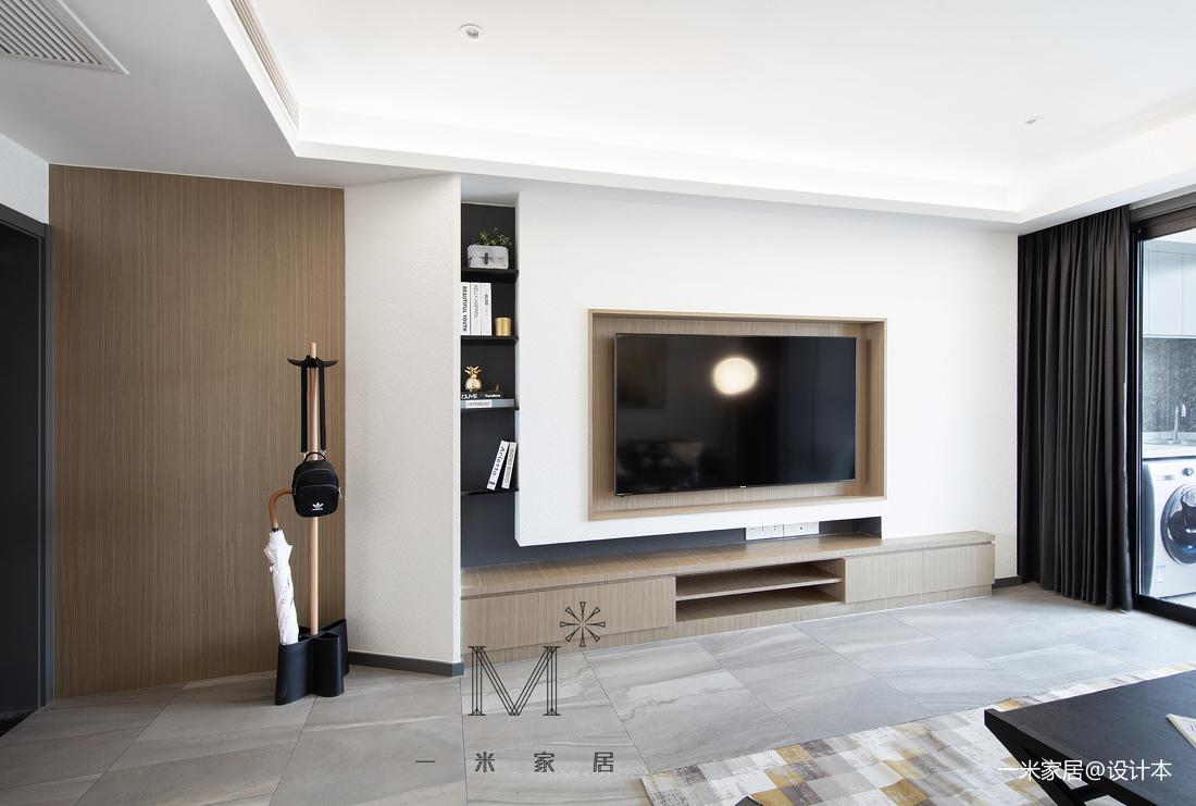 130m2 現代背景墻設計