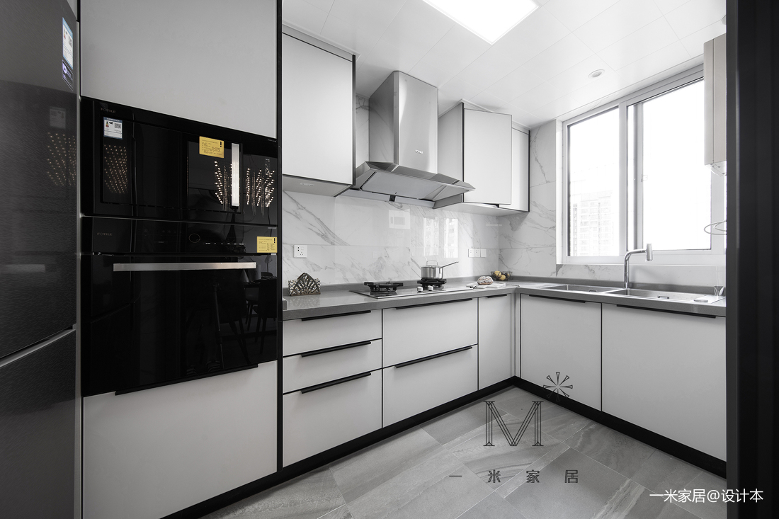 浪漫92平现代三居厨房装饰美图