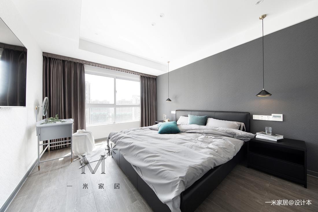 华丽117平现代三居卧室设计案例