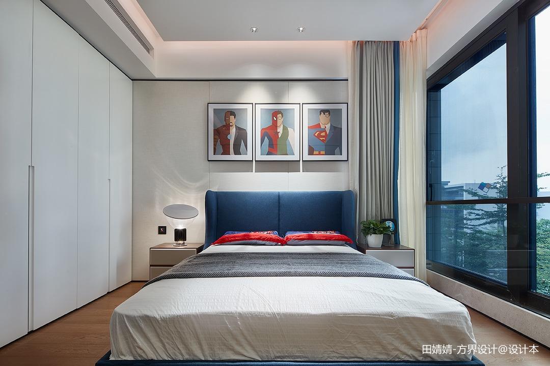 新中式素雅次卧设计
