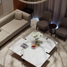 典雅990平中式别墅客厅装修图片