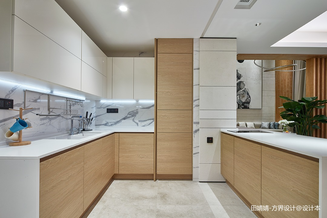 新中式素雅厨房设计