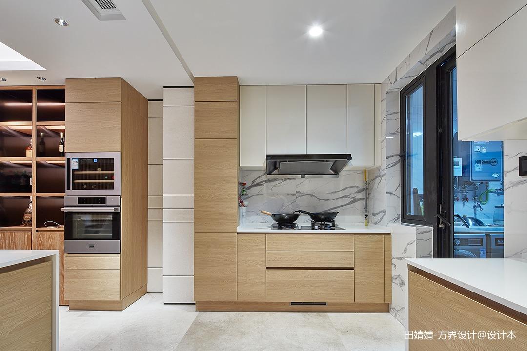 新中式素雅厨房设计图片