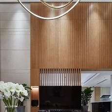 华丽725平中式别墅客厅装饰图