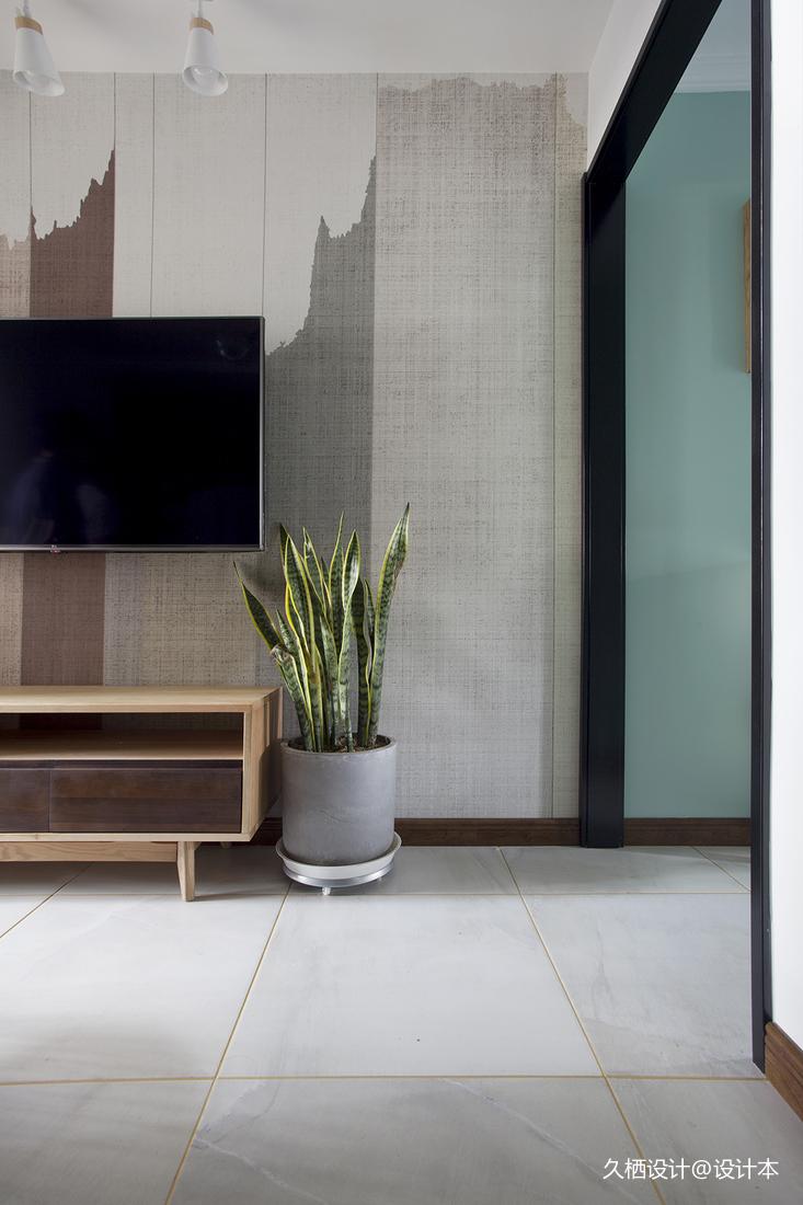 简洁31平北欧小户型客厅布置图