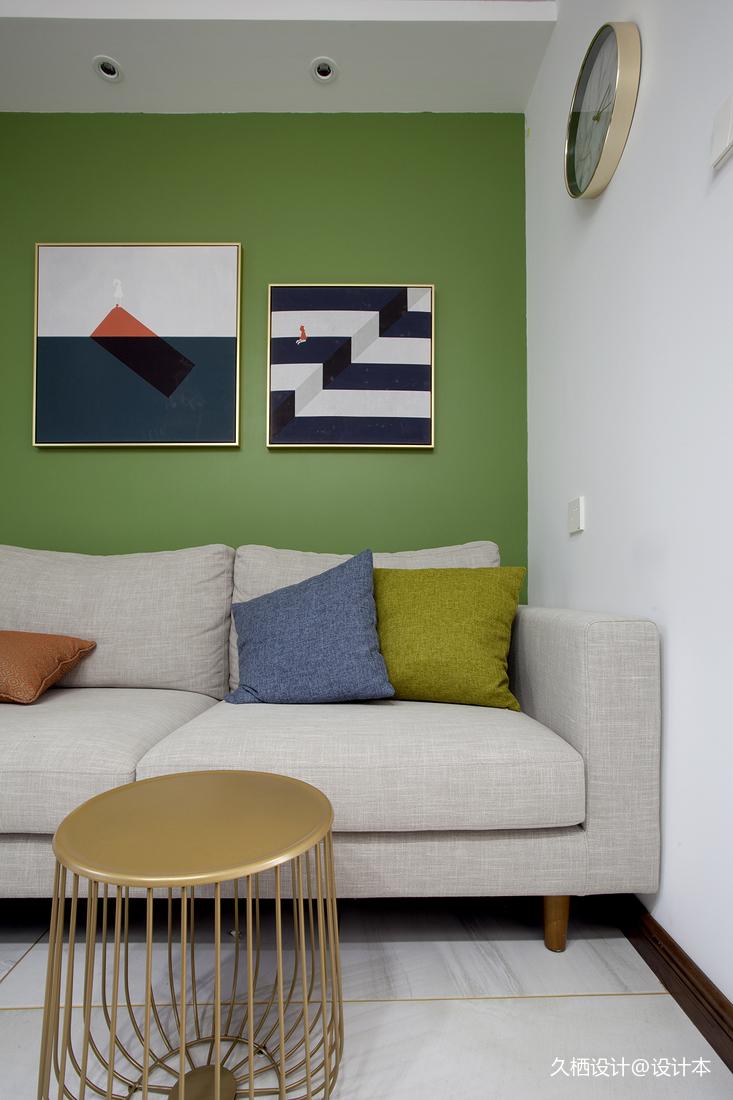 典雅25平北欧小户型客厅效果图片大全