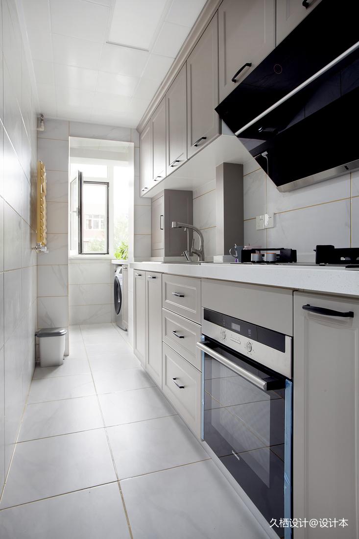 质朴39平北欧小户型厨房图片欣赏