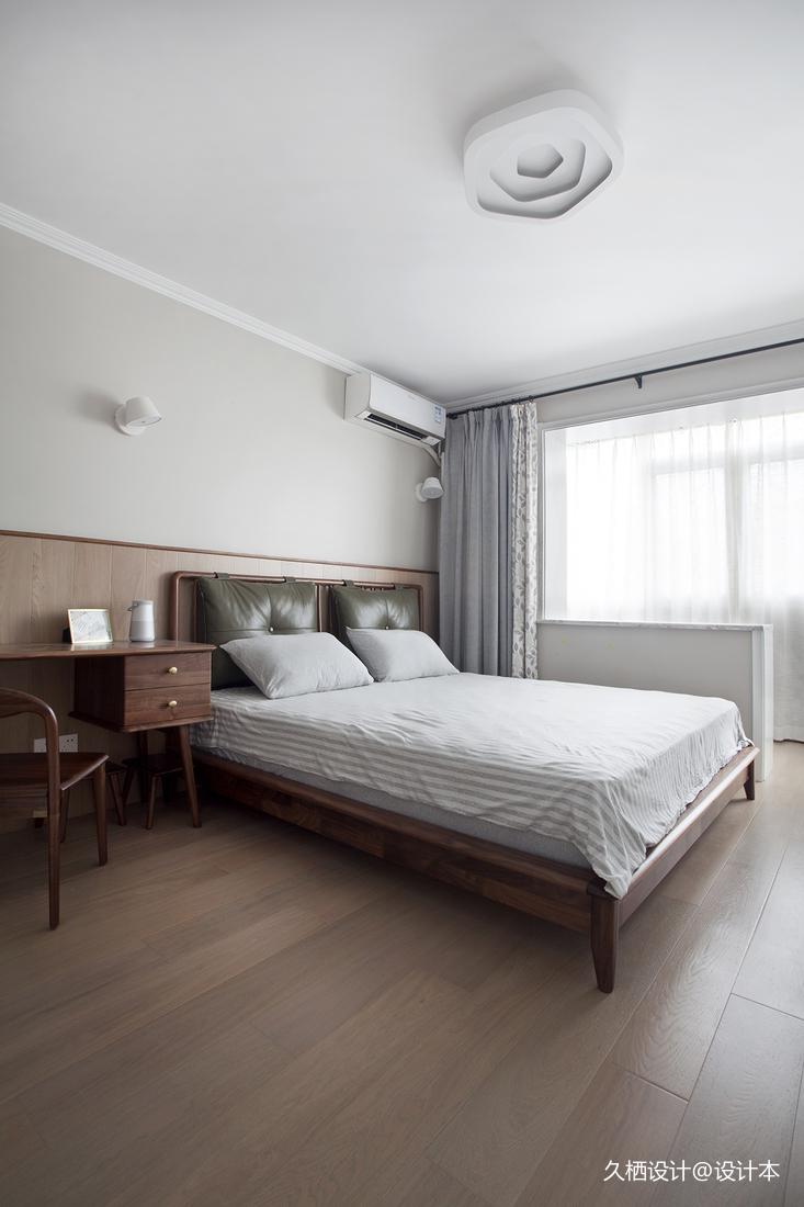 优美31平北欧小户型卧室实景图片