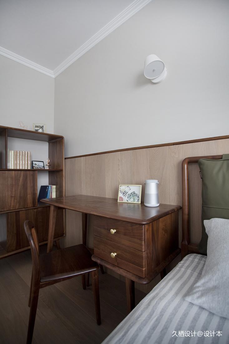 质朴30平北欧小户型卧室装修案例