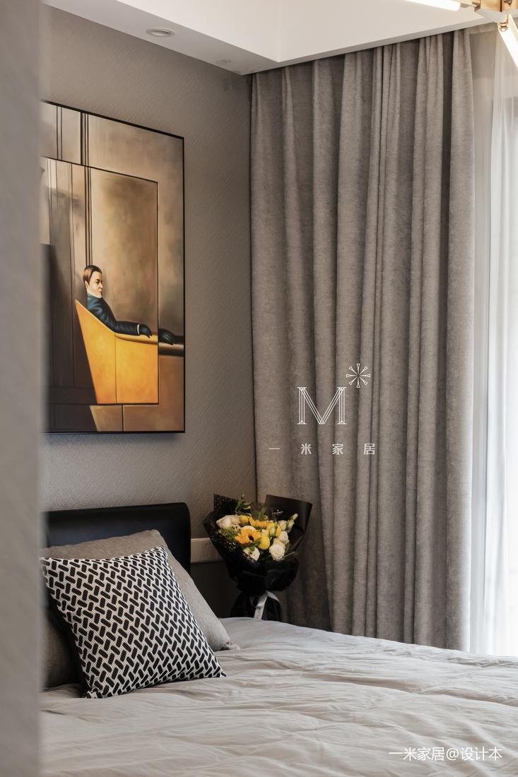 温馨77平现代三居设计效果图