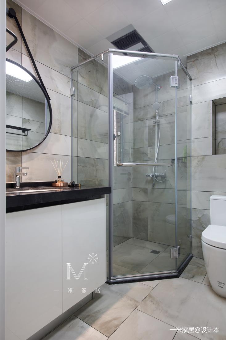 大气127平现代三居卫生间装修装饰图