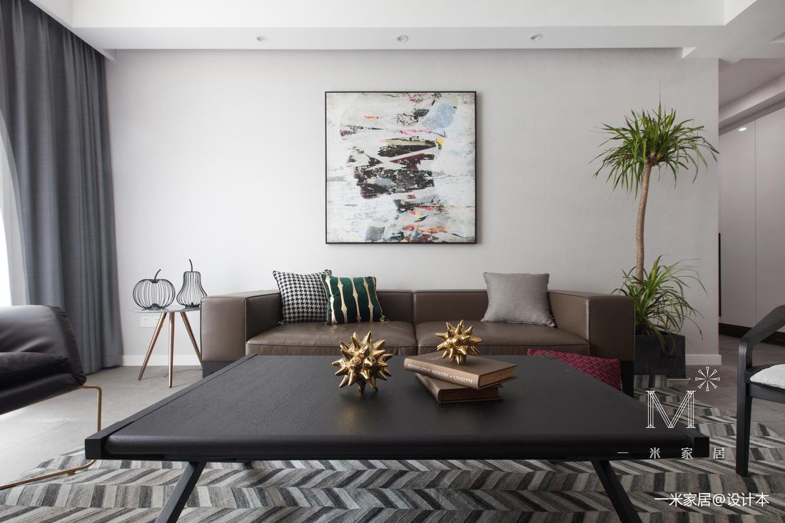 温馨72平现代三居客厅装修美图