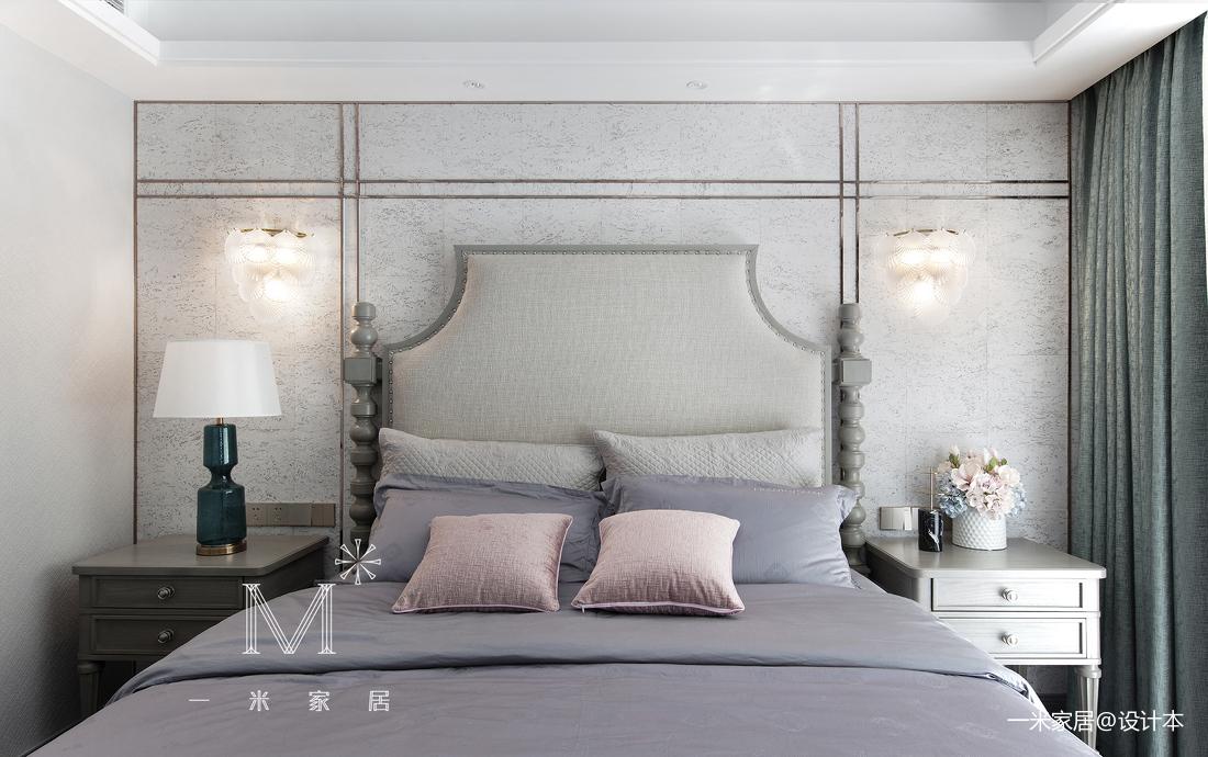 温馨96平美式三居装修图片
