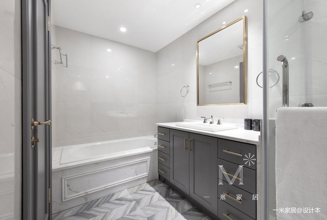 优雅98平美式三居装修美图