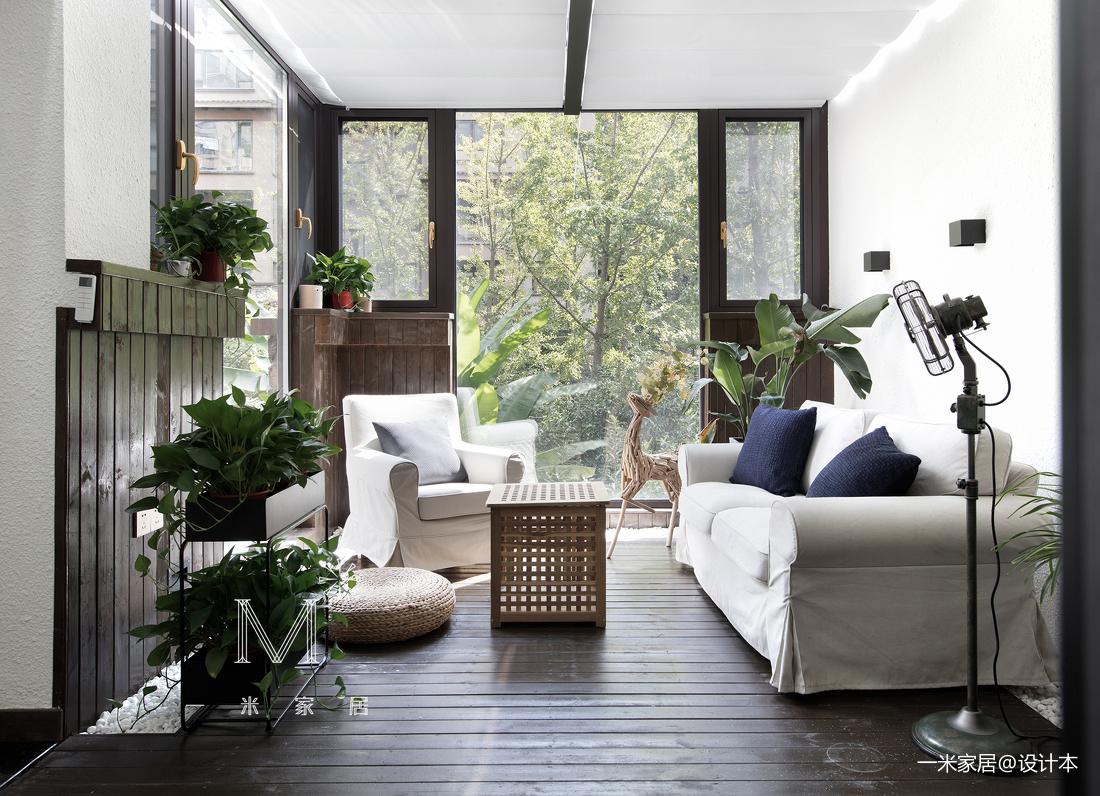温馨80平美式三居装修图片