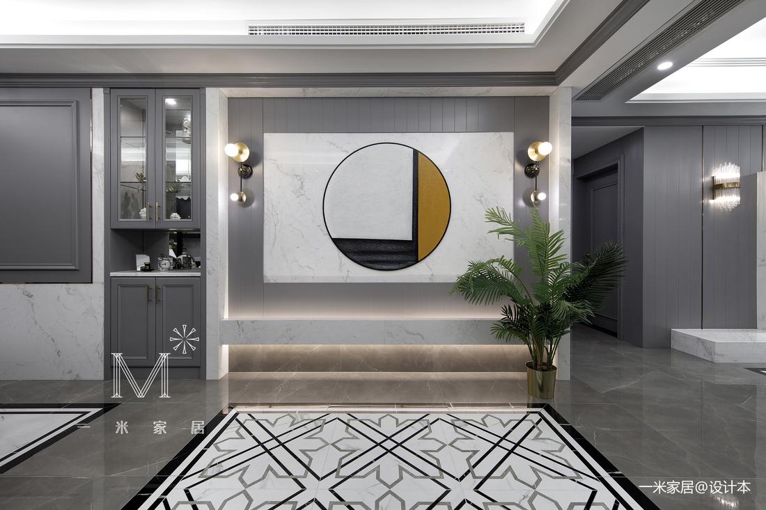 典雅79平美式三居装潢图