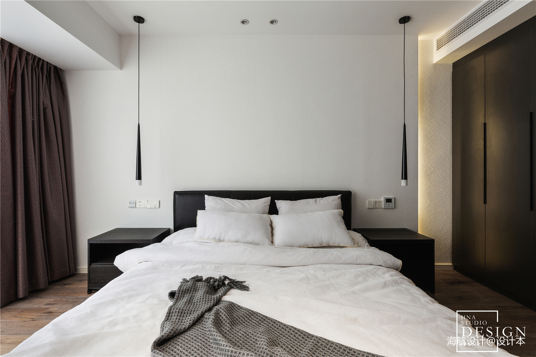 通透现代风主卧室设计图片