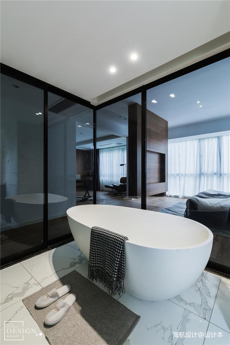 通透现代风卫浴设计