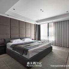 精美115平现代三居卧室装修美图
