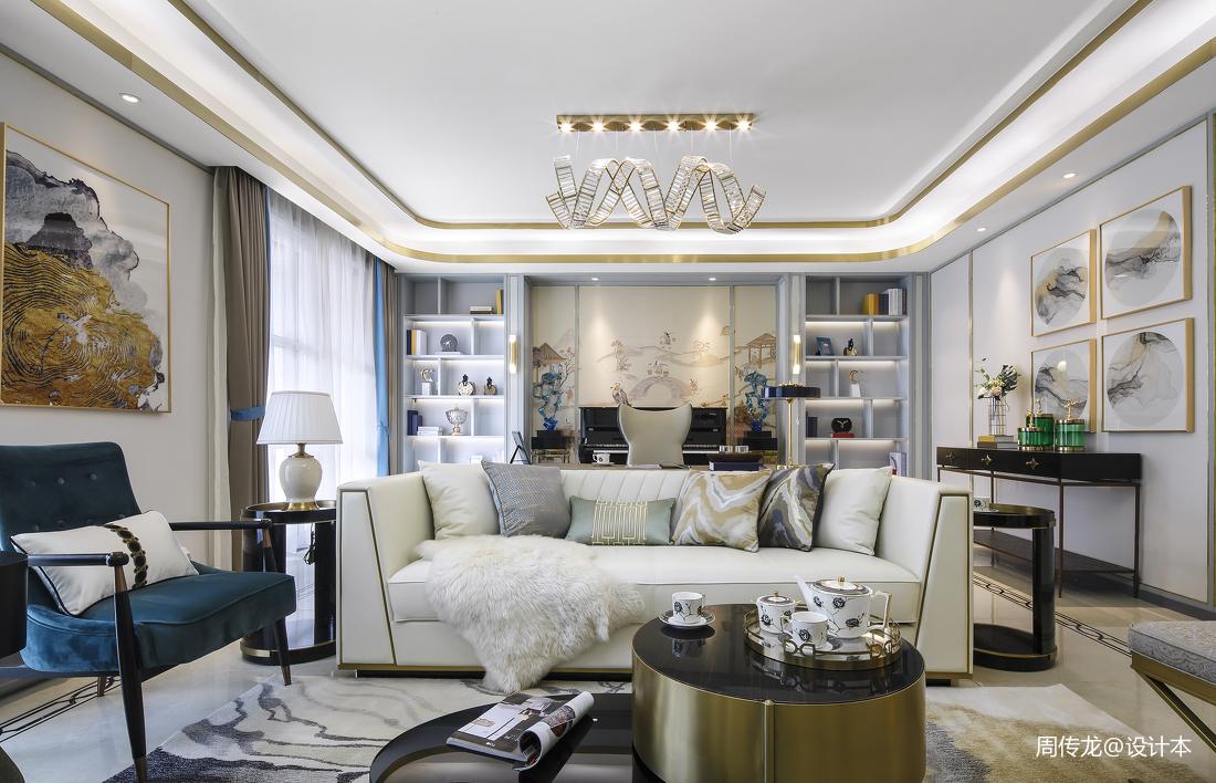 优美226平现代三居客厅图片欣赏