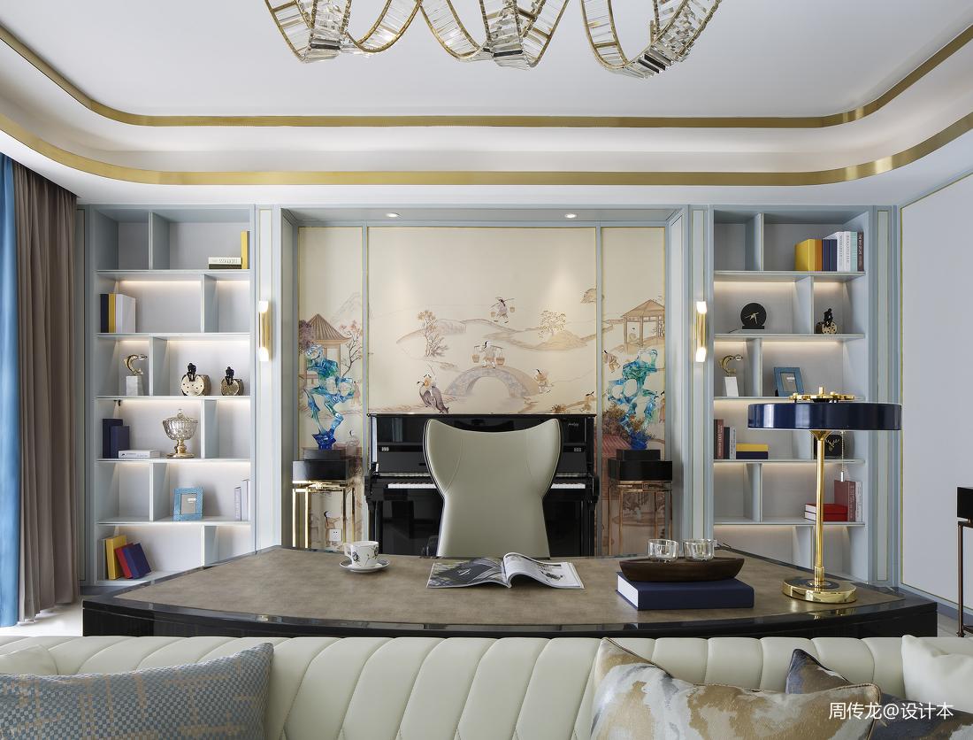 温馨94平现代三居客厅美图