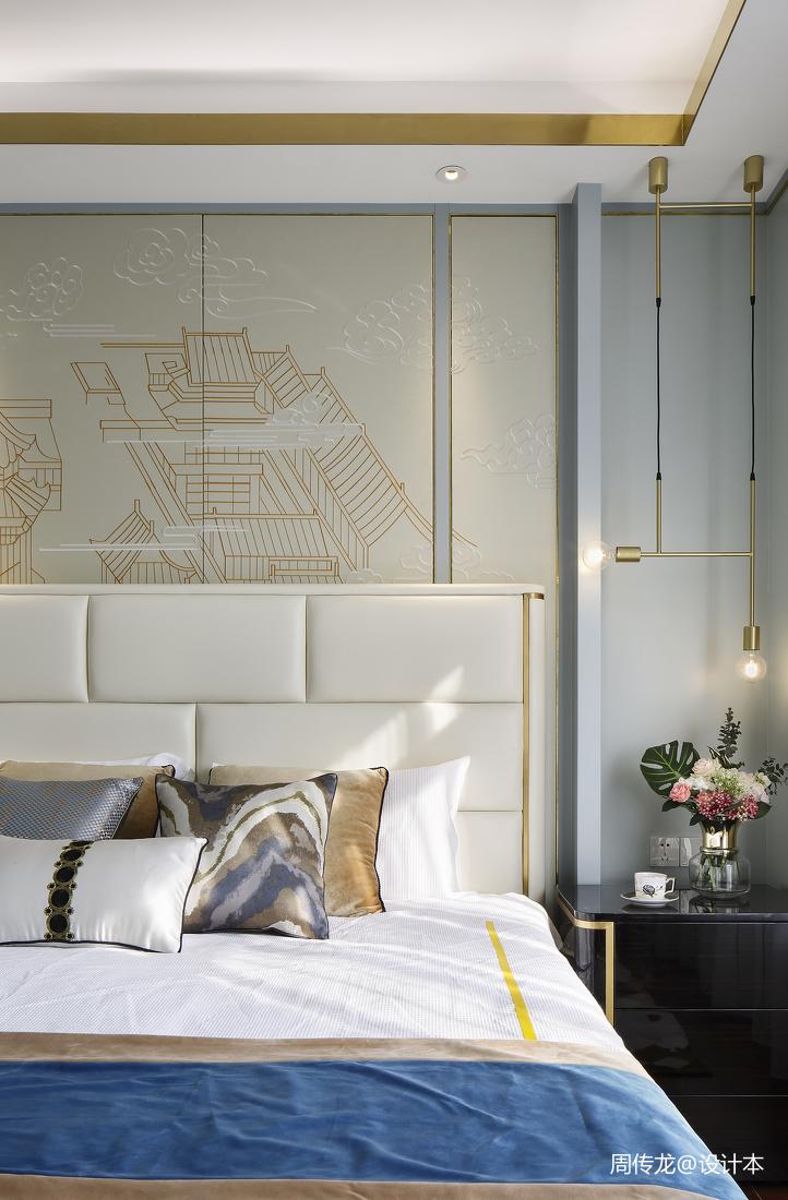 大气75平现代三居卧室图片大全