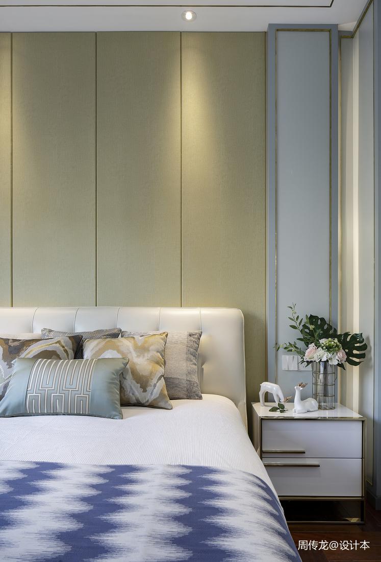 2019119平现代三居卧室设计图
