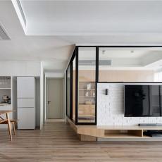 2019150平日式四居客厅实拍图