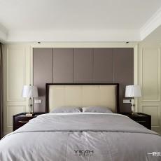典雅83平美式复式卧室装修美图