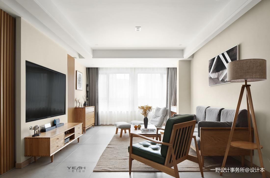 201987平日式三居客厅实拍图