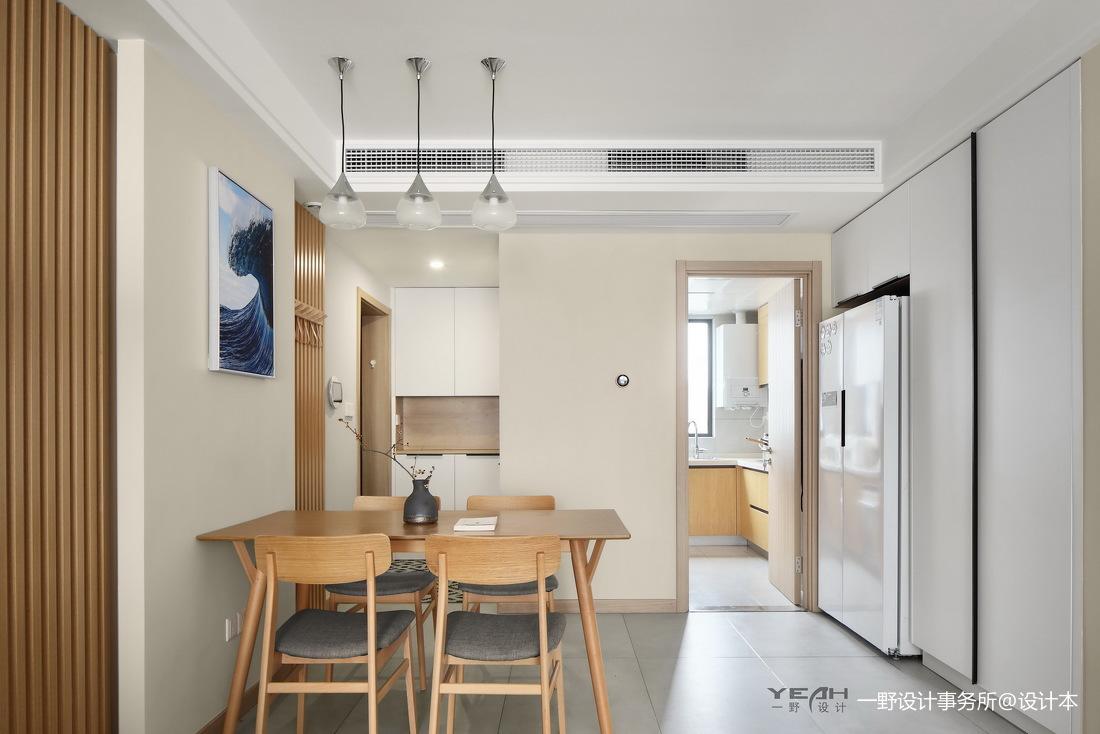 华丽73平日式三居餐厅设计美图