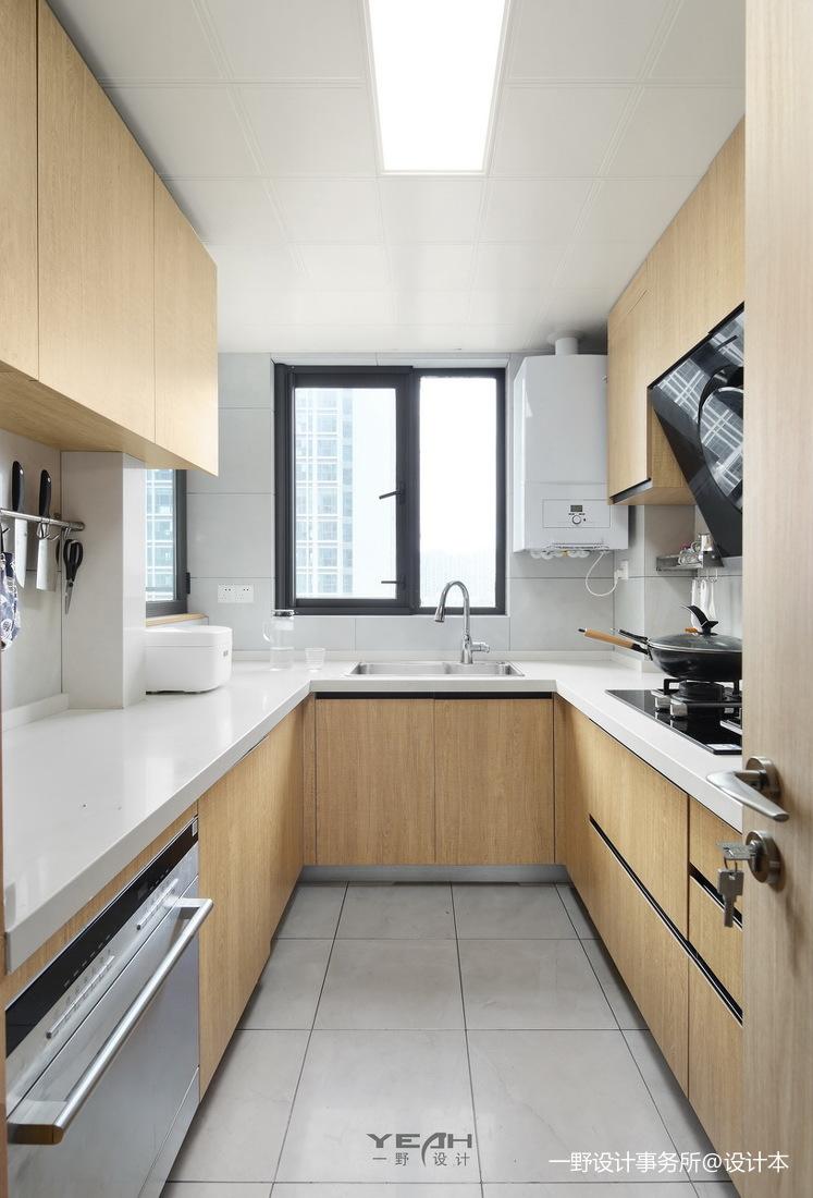 浪漫97平日式三居厨房设计效果图