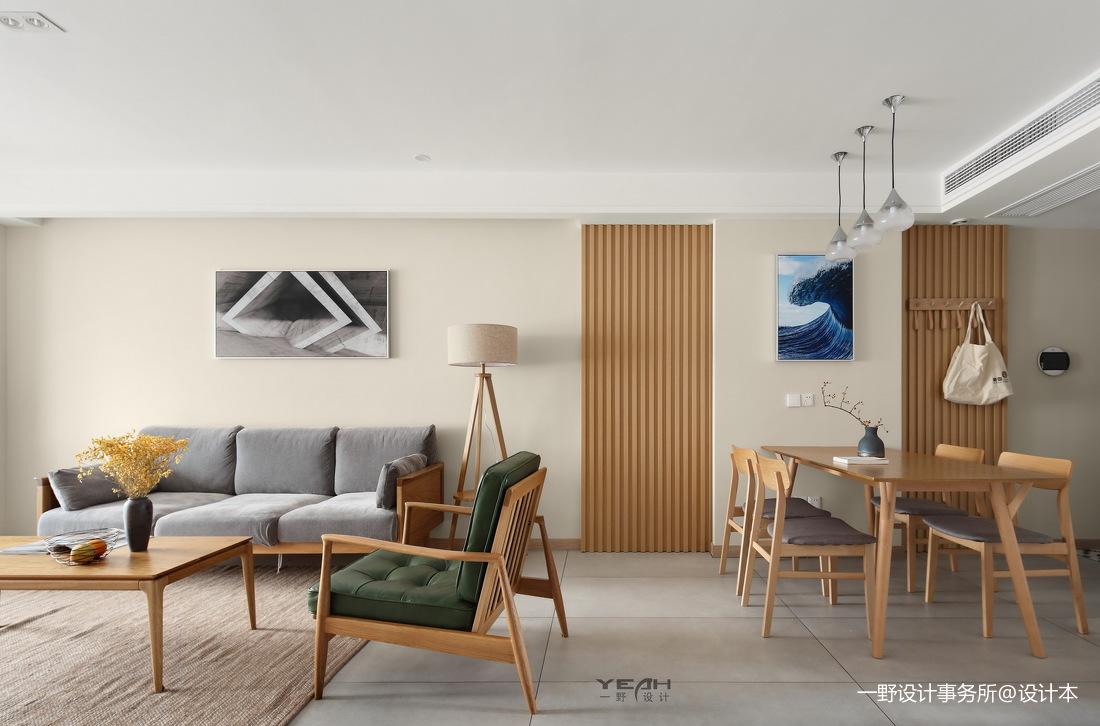 典雅140平日式三居客厅装饰图