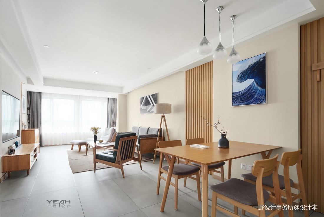 简洁72平日式三居餐厅实拍图