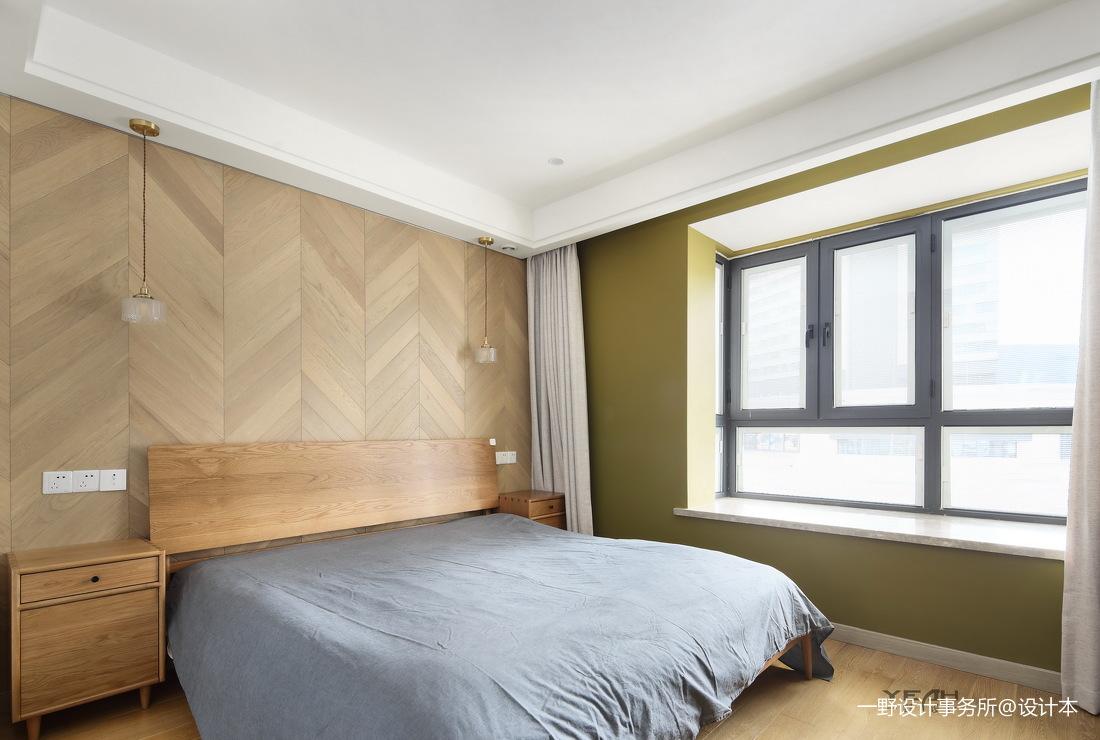浪漫80平日式三居卧室美图