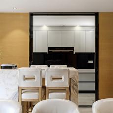 华丽275平现代样板间餐厅效果图片大全