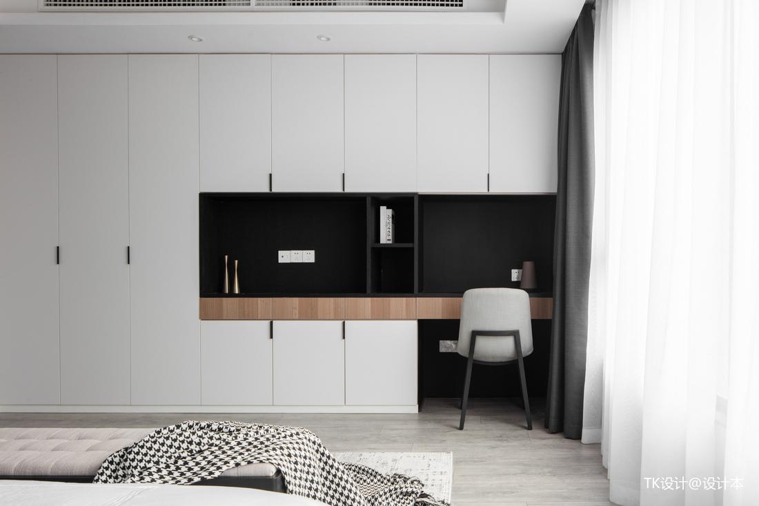201978平简约二居卧室设计案例