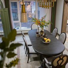 温馨488平美式别墅餐厅实拍图